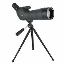 Eyeskey Angled 20-60x60 Waterproof Zoom Spotting Scope With Cell Phone Adapter