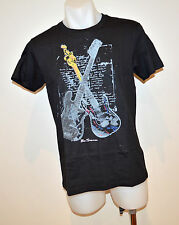 Ben Sherman Mens Printed T Shirt - BLACK - SIZE - SMALL - NEW