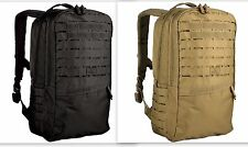 Defender Backpack Tactical Military Hydration Laser Webbing Cut Molle Coy or Blk