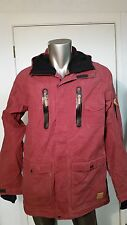 New Quiksilver DryFlight 15K Ski Snow rain waterproof hooded Jacket coat