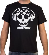 Planet Ex | Music Pirate - MUSIC / DJ House Party Mens T Shirt