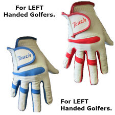 3 x Touch Cabretta Leather Mens Right Hand Golf Gloves For LEFT Handed Golfers