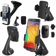 360° Windscreen Car Holder Stand Mount Cradle For Various Mobile Phones (FM)