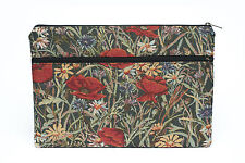 Poppies MacBook Air Pro 13 sleeve, Mac Pro 13 Retina case, MacBook 11, 12, 13