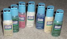 GALLERY GLASS WINDOW COLOR FOR A STAINED GLASS LOOK CHOICE OF 7 COLORS 2 OZ NEW