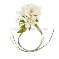 Bride Bridesmaid Wrist Corsage Penoy Wrist Flower Wedding Prom Garland Favour