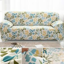 Rural Leaf Stretch Sofa Couch Slipcover Furniture Loveseat Chair Protect Cover