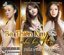 BA THIEN KIM NHA HO HA PHAN 1 - Phim bo DAI LOAN - 10 Dia -Label va Hop Options