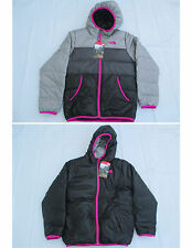 NWT The North Face New $149 Girls Reversible Moondoggy 550 Down Jacket Size M