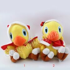 "New ! Final Fantasy Christmas Chocobo Bird 15cm/6.5"" Soft Plush Stuffed Doll Toy"