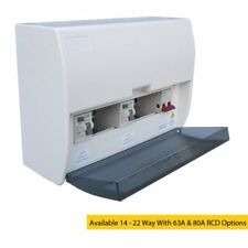 17th Edition Modular Consumer Unit With 100 Amp Mains Switch - High Quality