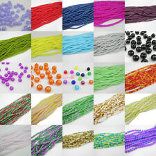 Multi-color 4mm Ball Loose Glass Crystal Beads For Fit Bracelets Necklaces Hot