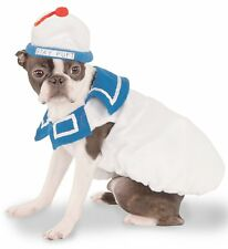 Ghostbusters Stay Puft Marshmallow Man Dog Costume Pet Dress Up SM MD LG XL