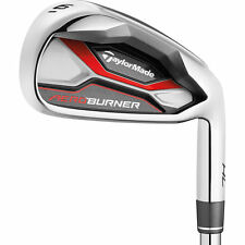 Taylormade Aeroburner HL Iron Set 4-PW+AW Steel Shafts Choose Flex New 2016