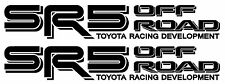 Toyota SR5 Truck Off Road 4x4 Toyota Racing TRD Tacoma Decal Vinyl Stickers PAIR