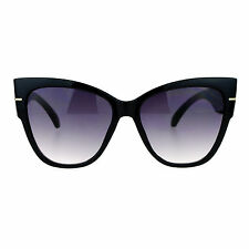 Womens Oversized Fashion Sunglasses Square Butterfly Designer Frame