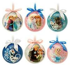 NEW Disney Store Frozen Elsa Anna Olaf Sketchbook Ball Ornament - Your Choice!