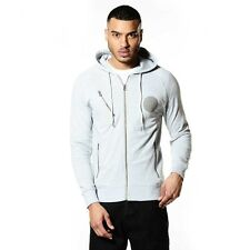 883 Police Todd Mens Grey Hoodie UKs Latest fashion Various Sizes