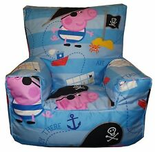 George The Pirate Bean Bag, Bean Chair, Beanbag Sofa (Toddler Childrens Kids)
