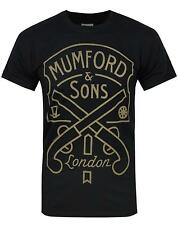 Official Mumford And Sons Pistols Label Men's T-Shirt