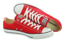 Converse Chuck Taylor All Star Classic Low Top Red Shoes Sneakers Unisex 9696