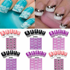 Charm 3D Cute Transfer Design Nail Art Stickers Manicure Nail Polish Decals Tips