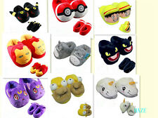 anime cartoon Plush Stuffed Slippers Plush Shoes Warm Home Slipper New