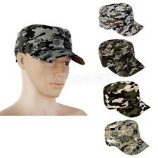 Mens Camo Cap Adjustable Military Hunting Fishing Hat Army Baseball Camouflage