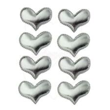 2x Candy Color Heart Shape Hair Clips for Children Barrette Hairpin Headwear