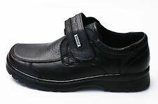 Mens Black Comfort Loafers Slip On Casual Dress Formal Leather Shoes
