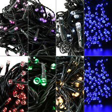 100 /200 LED Outdoor Solar Powered Fairy String Lights Garden Christmas Party SN