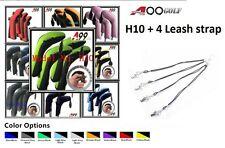 4pcs/set H10 A99 Golf Hybrid Head Cover + Leash strap 4