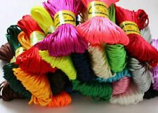 3mm Chinese Knot Satin Nylon Braided Cord Macrame Beading Rattail Wire Cords