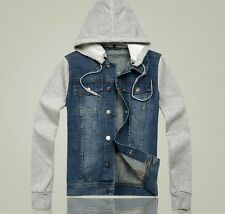Mens Youth New Fashion Trendy Denim Jacket Vintage Jean Coat Outwear jacket
