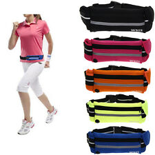 Multi-function Travel Sports Jogging Running Cycling Waist Belt Pocket Bag Pouch