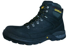 Caterpillar Dynamite St S3 Steel Toe Mens Leather Safety Boots - Black - P716206