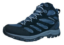 Merrell Tucson Mid Waterproof Mens Hiking Boots - Black - J41805
