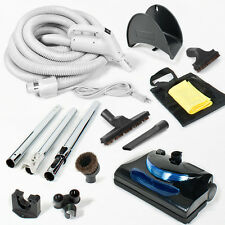 MD Modern Day Electric Central Vacuum Kit Powerhead 30 foot Hose Cleaning Tools