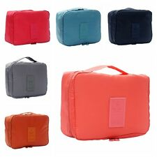 1x Travel Cosmetic Makeup Toiletry Case Wash Organizer Storage Pouch Bag 1F2