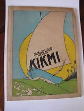 1923 University of Wisconsin Haresfoot Club Musical Presentation Kikmi Songbook