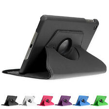 360 Degree Cases iPad mini 2 3 4 Retina Faux Leather Cover Case Stand Case