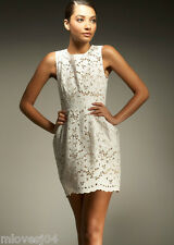Stella McCartney White Dewberry Cotton Lace Dress BNWT UK 10 12 IT 40 42 £1456