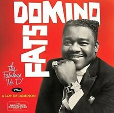 Fabulous Mr. D + a Lot of Dominos - Domino,Fats New & Sealed CD-JEWEL CASE Free