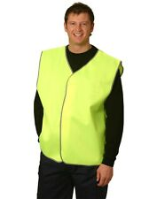 10 of AIW SW02; High Visibility Safety Vest 100% Polyester