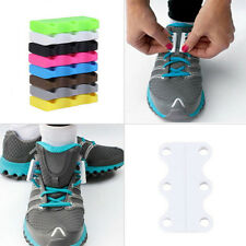 Novelty Magnetic Casual Sneaker Shoe Buckles Closure No-Tie Shoelace New OX