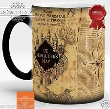 MARAUDERS MAP HARRY POTTER- Magic Color Changing Coffee Mug Home Decor EDH