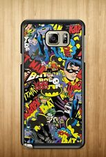 Batman JDM Sticker Bomb Robin Joker For Samsung Galaxy Note 2 3 4 5 Case Cover