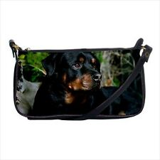 Rottweiler Shoulder Clutch Handbag & Mini Coin Purse - Puppy Dog