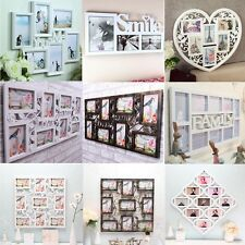 Family Wall Hanging Plastic Collage Picture Photo Frame Wedding Birthday Gift