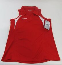 New! Asics Assist Women's Volleyball Jersey, Red/White ( X-Small & Small )